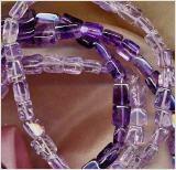 Ketten aus zartlila und violettem Amethyst