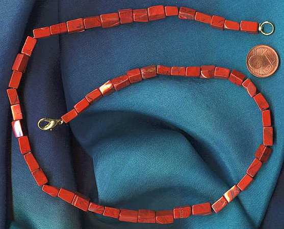 Heilstein für Durchsetzungskraft: Roter Jaspis